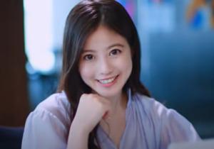笑顔の今田美桜